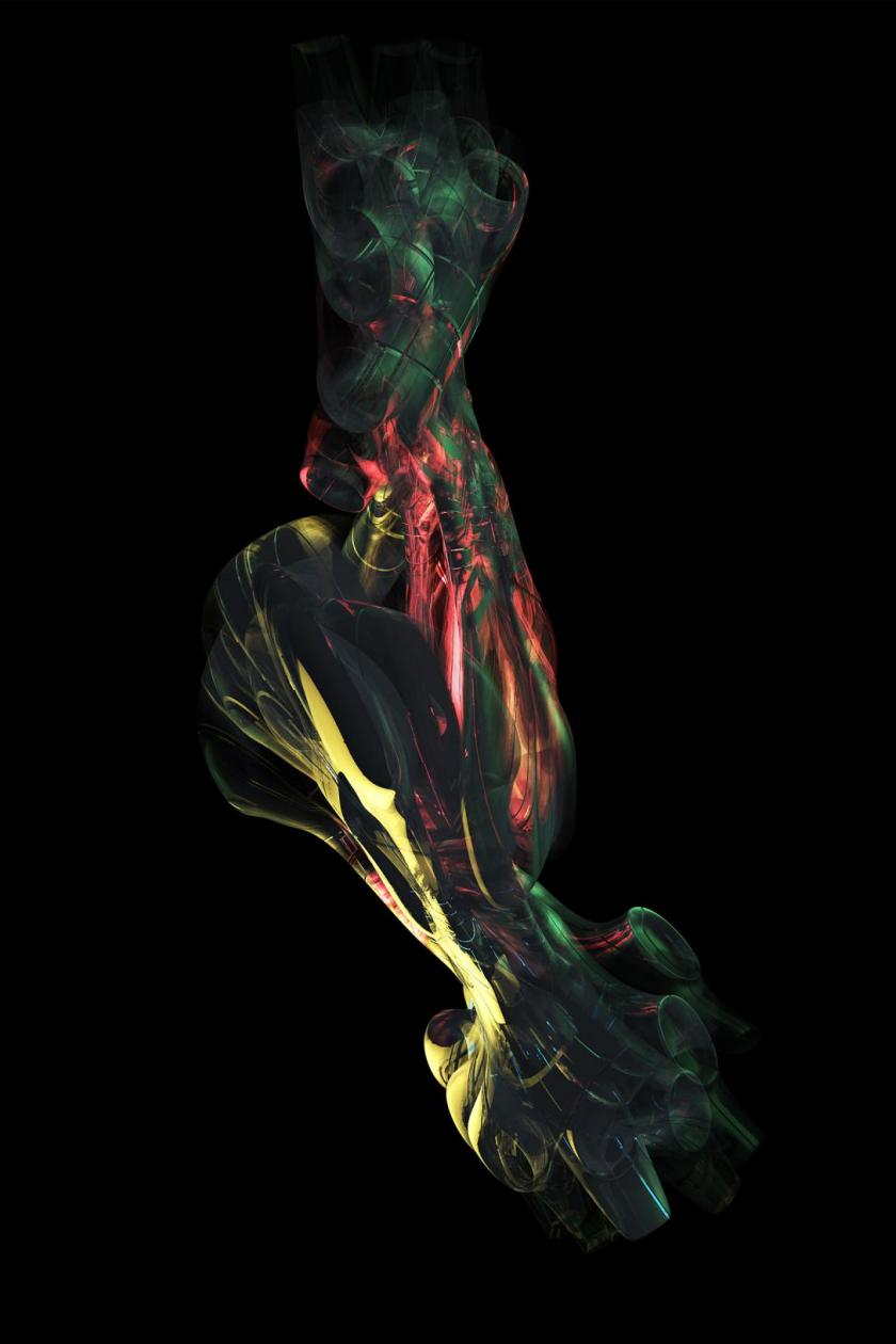 sci fi art architecture fusion neural joints in space